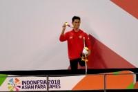 Jendi Masih Simpan Sesal di Asian Para Games 2018