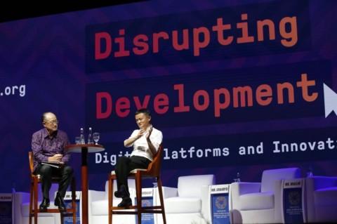 Jack Ma Sebut Internet Penting untuk Negara Berkembang