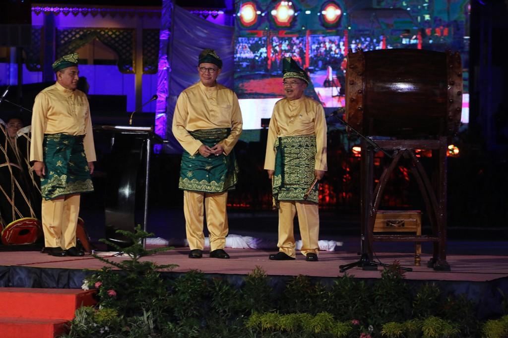 Jusuf Kalla Tutup MTQ Nasional ke-27