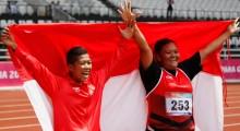 Klasemen Akhir Perolehan Medali Asian Para Games: Indonesia