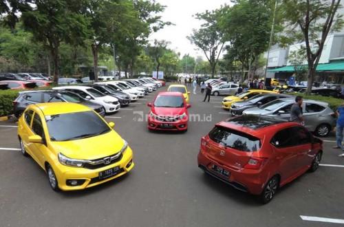 200 unit All New Honda Brio diserahkan ke pemilik perdananya