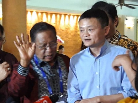 Jack Ma Ajak Produk Indonesia Eksis di Internasional