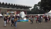 Warga Antusias Menyaksikan Penutupan Asian Para Games 2018