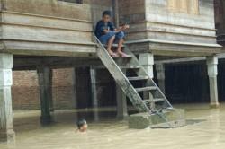 3.442 Jiwa Terdampak Banjir dan Longsor di Aceh Singkil