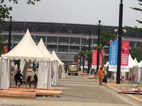 Sampah Konser Penutupan Asian Para Games Capai 30 Ton