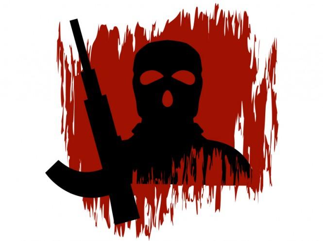 Ilustrasi teroris - Medcom.id.