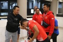 Sebelum Atlet Pulang, Menpora Kunjungi Wisma Atlet