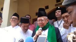 Ma'ruf Amin Dukung Yenny Wahid Gandeng Mahfud MD