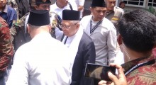 Ma'ruf Amin Pamitan dengan Pengurus NU di DIY