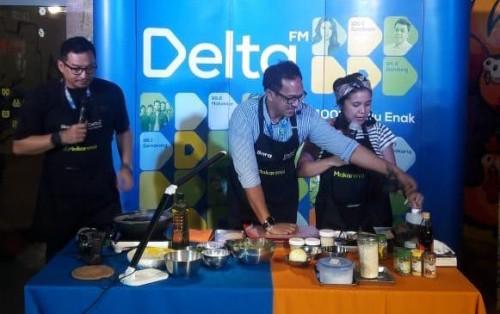 Makarena (Makanan Rabu Enak) merupakan program terbaru Delta FM