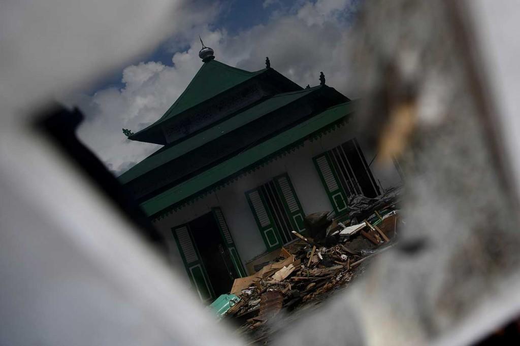 Diterjang Tsunami, Masjid Ini Tetap Kokoh Berdiri