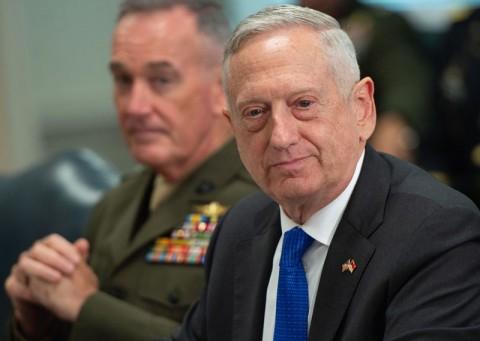 Trump Buka Peluang Mengganti Menhan Mattis