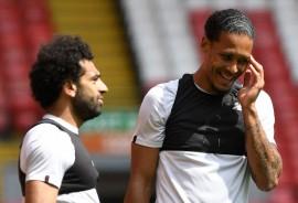 Mohamed Salah dan Van Dijk Menepi