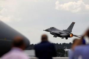 Teknisi tak Sengaja Tembakkan Meriam, Hancurkan Jet F-16