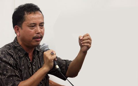 Ketua Presidium Indonesia Police Watch, Neta S Pane - MI/M. Irfan