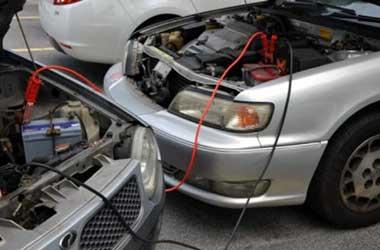 Kabel jumper untuk memberikan tenaga tambahan ke sistem