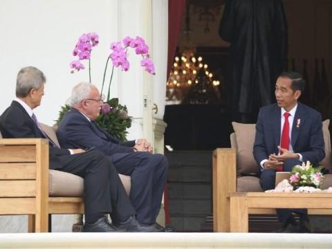 Jokowi Terima Kunjungan Menlu Palestina di Istana