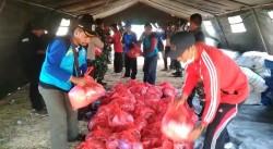 Korban Gempa di Sapudi Kekurangan Sembako