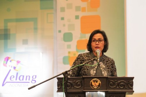 Finance Minister Sri Mulyani Indrawati (Photo:MI/Erlangga)