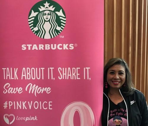 Shanti didiagnosis menderita kanker payudara stadium 3B pertama