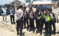 Polisi Tambah Personel untuk Perbaiki Rumah Korban Gempa