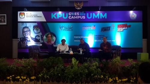 KPU Goes to Campus.Universitas Muhammadiyah Malang (UMM),