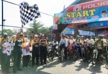 Sepeda Nusantara di Malang Tuai Respons Positif