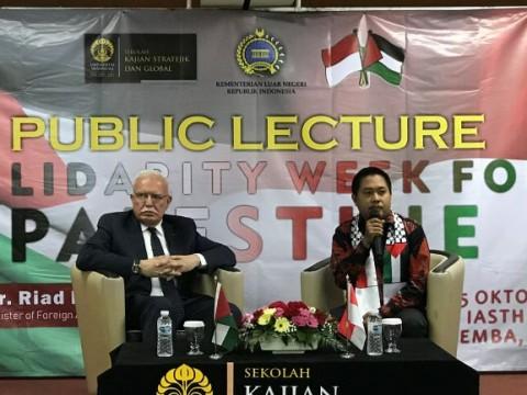 Palestina Tidak Akan Biarkan Sistem Apartheid Terbentuk
