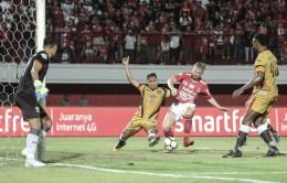 Gol Tunggal Platje Bawa Bali United ke Posisi Empat