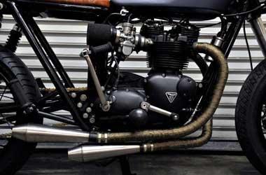 Paking knalpot motor bocor bikin tenaga mesin loyo.