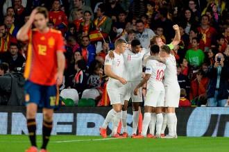Inggris Tundukkan Spanyol 3-2