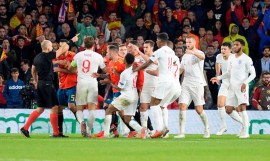 Komparasi Statistik hingga Rapor Pemain Spanyol vs Inggris