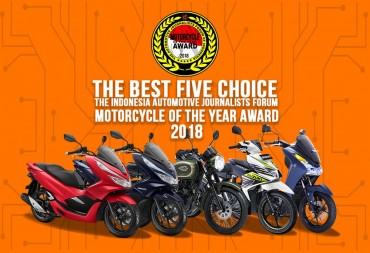 Forwot Pilih Lima Finalis Motor Terbaik 2018
