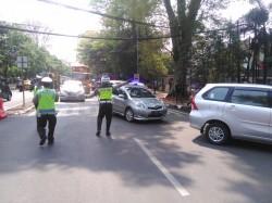 Akses Putar Arah di Sejumlah Titik di Bandung Ditutup