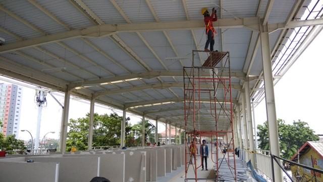Skybridge Tanah Abang/Medcom.id/Fachri Audhia Hafiez