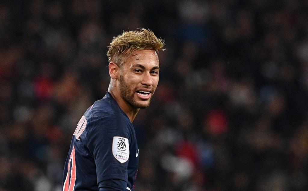 Neymar. (Photo by FRANCK FIFE / AFP)