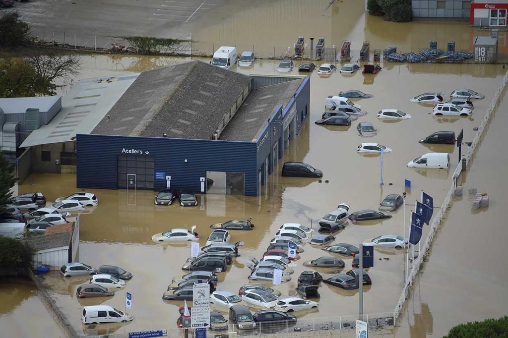 Banjir Bandang Terjang Prancis