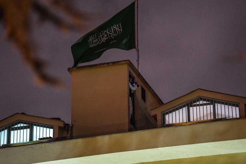 Cari Khashoggi, Polisi Turki Geledah Konsulat Arab Saudi