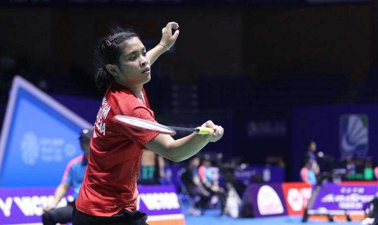 Gregoria Lolos ke Babak 16 Besar Denmark Open 2018