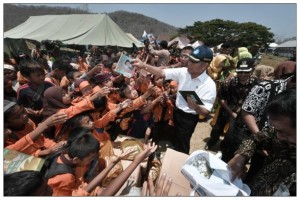Bantuan Pendidikan Tahap Pertama UNICEF Tiba di Sulteng