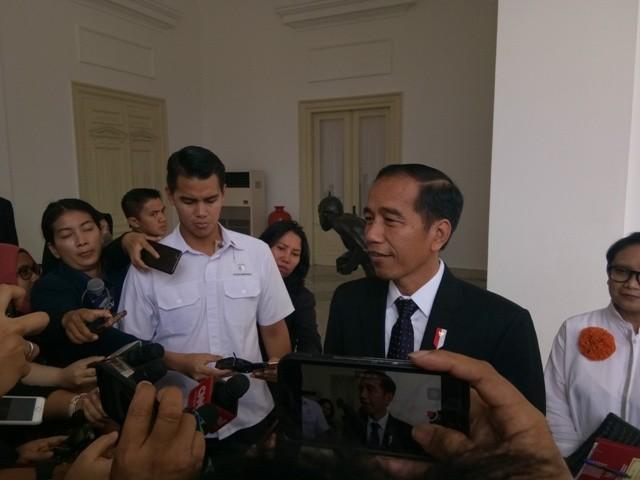 President Joko Widodo (Photo:Medcom.id/Achmad Zulfikar Fazli)
