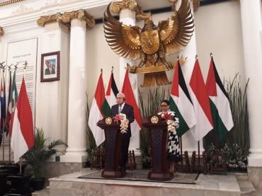 Menlu Palestina: Indonesia Pioner dalam Promosi Perdamaian Dunia