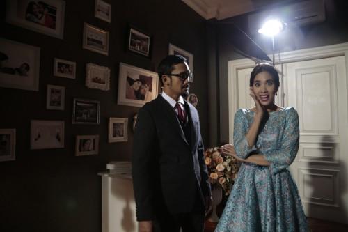 Fanny Fabriana dan Tora Sudiro di film 3 Dara 2 (Foto:
