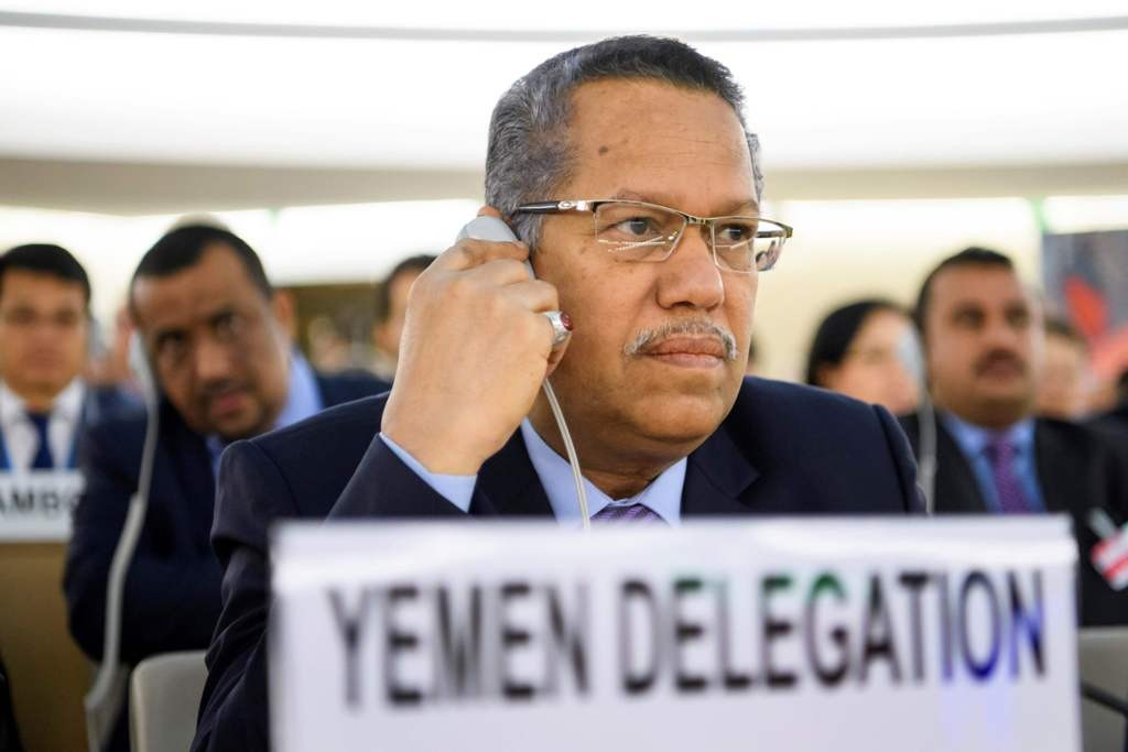 Mantan PM Yaman Ahmed bin Dagher. (Foto: AFP)