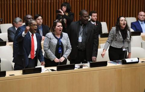 Sejumlah Diplomat Kuba Mengamuk di Pertemuan PBB