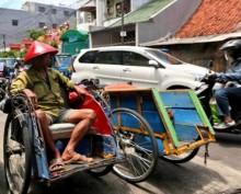 80% Penarik Becak bukan Warga DKI Jakarta