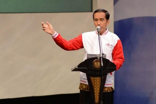 Presiden Joko Widodo (MI/PANCA SYURKANI)