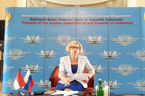 Bersama Indonesia, Rusia Dukung Solusi Dua Negara