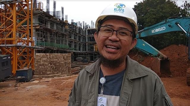 Wakil General Manager (GM) Kerja Sama Operasi (KSO) PD Pembangunan Sarana Jaya, Rizalhan. Foto: Medcom.id/Fachri