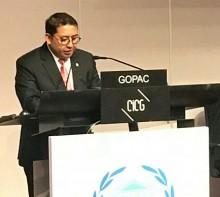 Presiden GOPAC: Korupsi Ancaman Serius Perdamaian Dunia